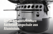 Die Highlights des Summit® Charcoal Grilling Center – Holzkohlegrill Ø 61 cm