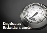 Eingebautes Deckelthermometer