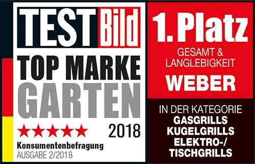 Weber Testbild Auszeichnung - Grill & Co